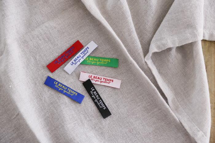 ばら刺繍タグ‐TEMPS